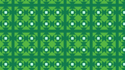 Green Square Pattern Design