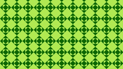 Green Square Pattern Background Image