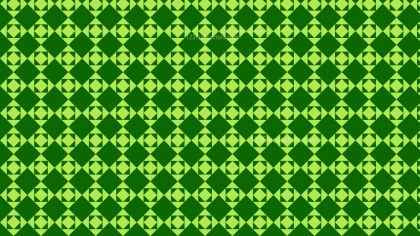 Green Square Background Pattern Vector Graphic