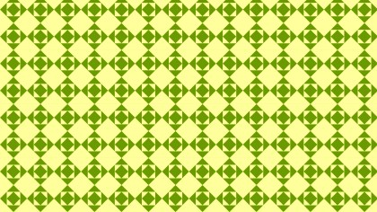 Green Geometric Square Background Pattern Vector Illustration