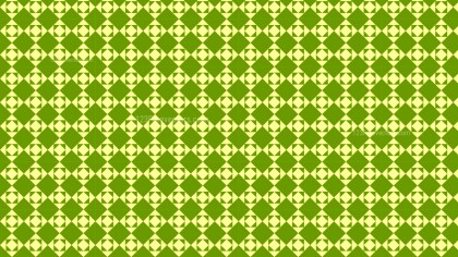 Green Seamless Square Pattern Vector