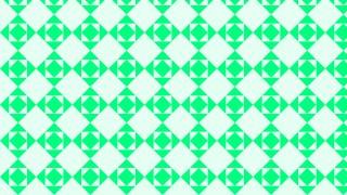 Spring Green Seamless Geometric Square Pattern Illustration
