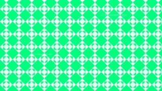Spring Green Seamless Geometric Square Pattern Background Design