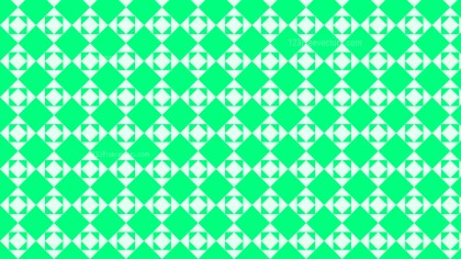 Spring Green Seamless Geometric Square Pattern Background Design