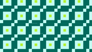 Green Square Background Pattern