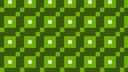 Dark Green Geometric Square Background Pattern