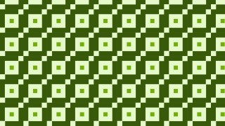 Green Seamless Square Pattern Background