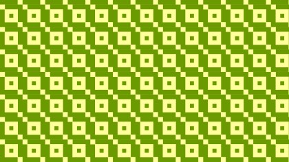 Green Seamless Geometric Square Pattern