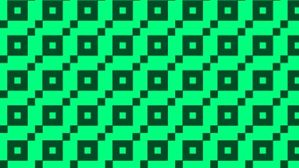 Emerald Green Square Pattern Illustrator