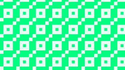 Spring Green Geometric Square Pattern Vector Art