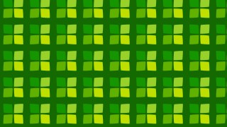Green Geometric Square Background Pattern Illustration