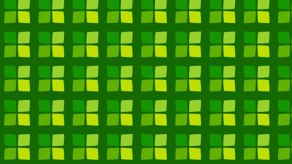 Green Geometric Square Background Pattern Illustration