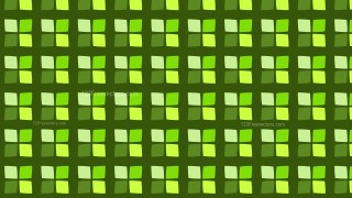 Green Seamless Square Pattern Design
