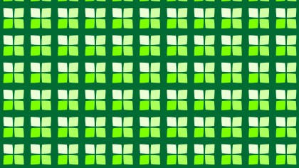 Green Seamless Square Pattern Background Image