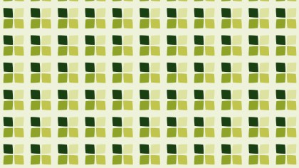 Green Seamless Square Background Pattern Vector Graphic