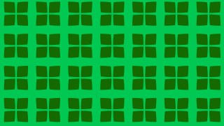 Green Seamless Geometric Square Pattern Vector Image
