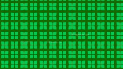 Green Seamless Geometric Square Pattern Background Illustrator