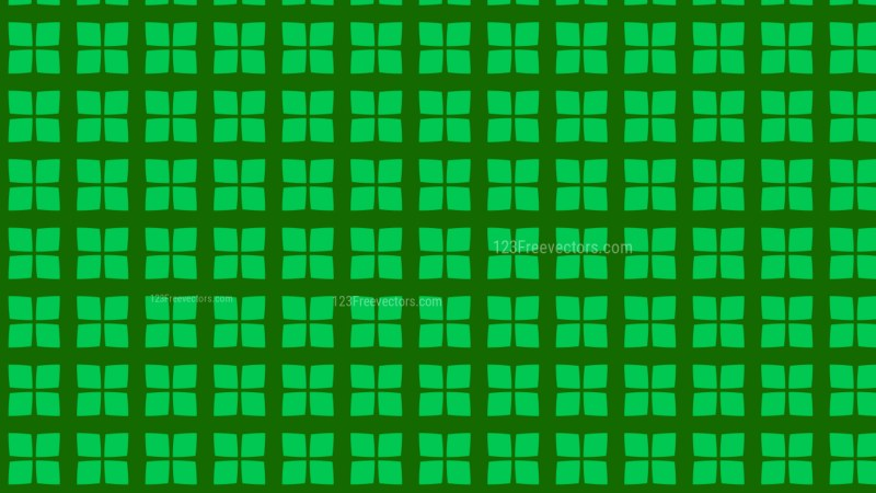 Green Seamless Geometric Square Pattern Background Illustrator