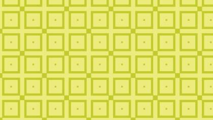 Green Geometric Square Pattern