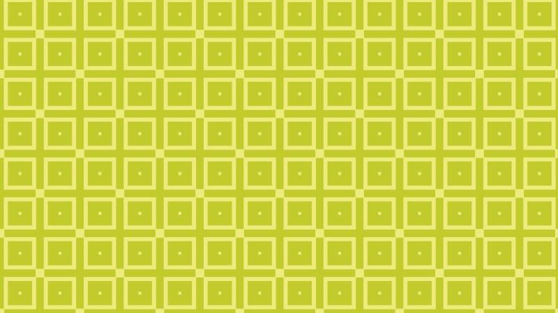Green Geometric Square Pattern Background