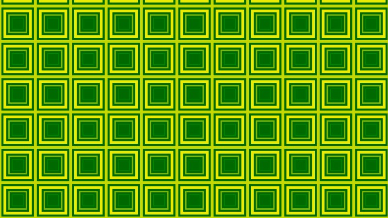 Green Seamless Concentric Squares Background Pattern Illustration