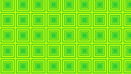 Lime Green Seamless Concentric Squares Pattern