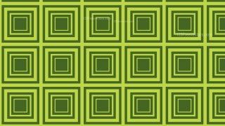 Moss Green Seamless Concentric Squares Pattern Background