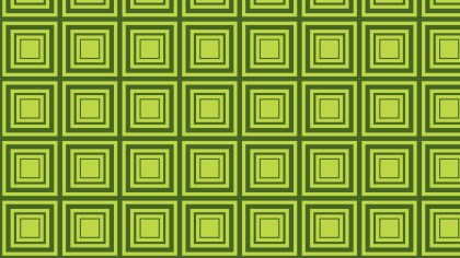 Green Seamless Concentric Squares Background Pattern