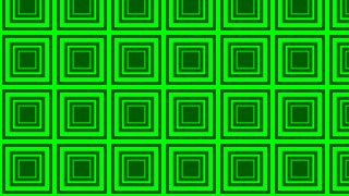 Neon Green Concentric Squares Pattern Vector