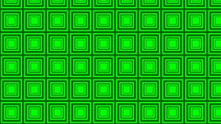 Neon Green Concentric Squares Pattern Background Vector Art