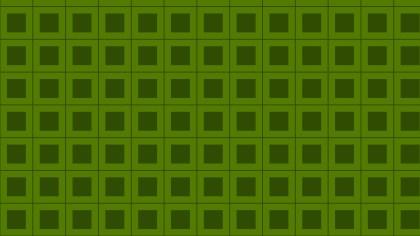 Dark Green Seamless Square Background Pattern