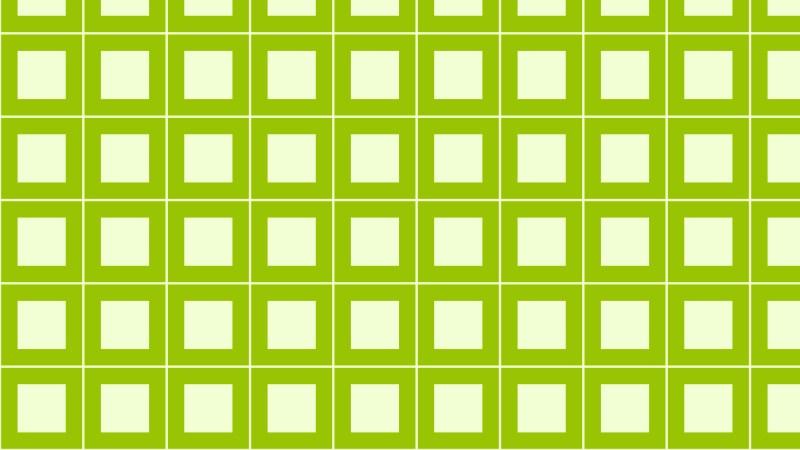 Green Seamless Geometric Square Pattern