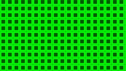 Neon Green Seamless Geometric Square Background Pattern
