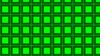 Neon Green Square Pattern Graphic