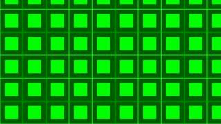 Neon Green Square Pattern Graphic