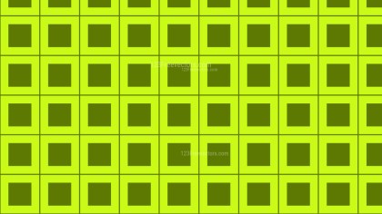Lime Green Square Pattern Background Illustration