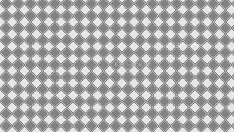 Grey Geometric Square Pattern Image