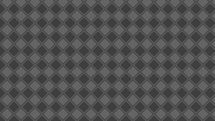 Dark Grey Seamless Geometric Square Pattern Vector Art
