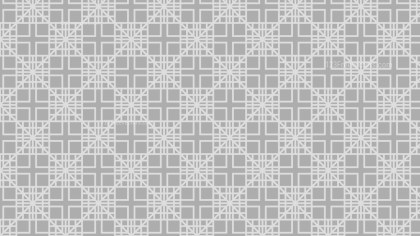 Light Grey Seamless Geometric Square Background Pattern Illustration