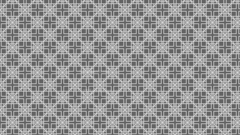 Grey Geometric Square Pattern