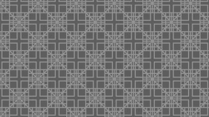 Dark Grey Geometric Square Background Pattern
