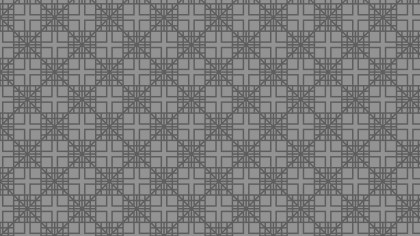 Dark Grey Seamless Square Pattern