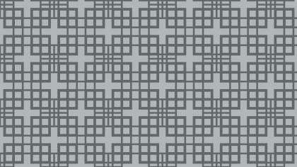 Grey Seamless Geometric Square Pattern Background