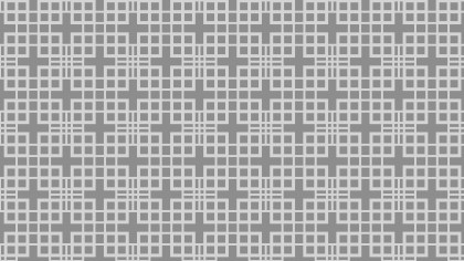 Grey Square Pattern Background Vector Image
