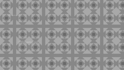 Grey Seamless Square Pattern Background Illustration