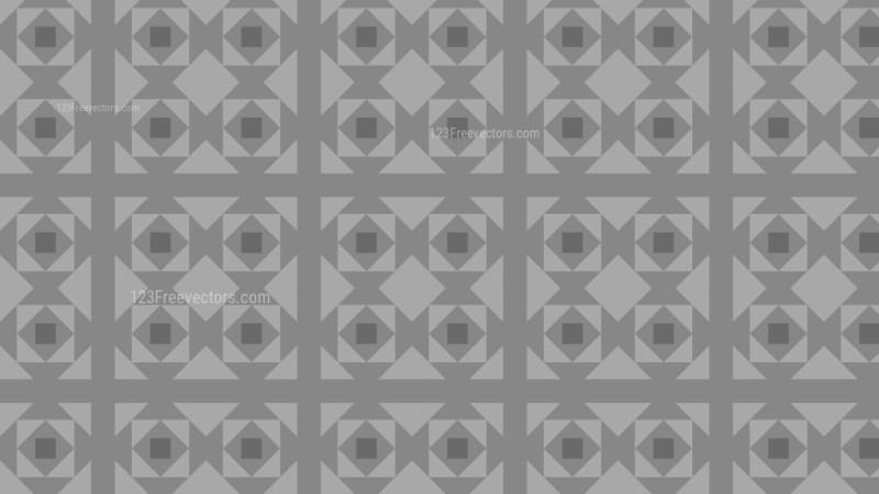 Grey Seamless Square Pattern Background Illustration