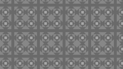 Dark Grey Seamless Square Background Pattern Design