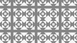 Grey Seamless Geometric Square Pattern Background Vector Graphic