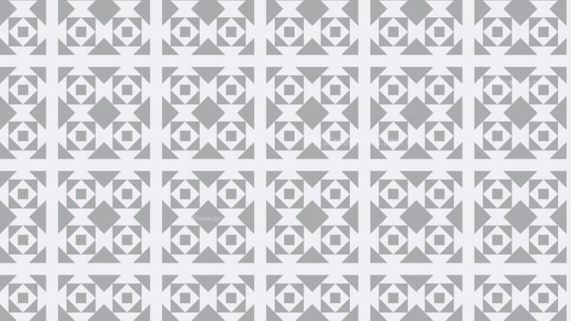 Light Grey Seamless Geometric Square Background Pattern Vector Image