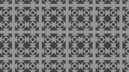 Dark Grey Square Background Pattern